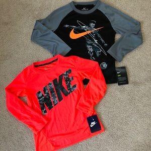 Boys size 6 Nike long sleeves NWT